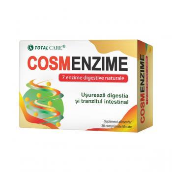 Cosmenzime- 7 enzime digestive 30 cps COSMOPHARM