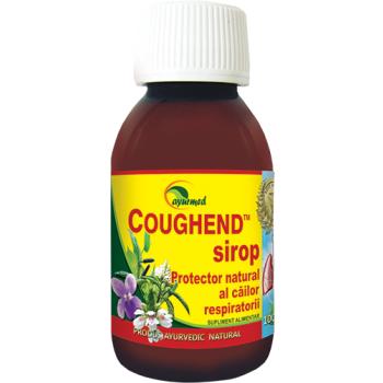 Coughend, sirop cu zahar 100 ml AYURMED