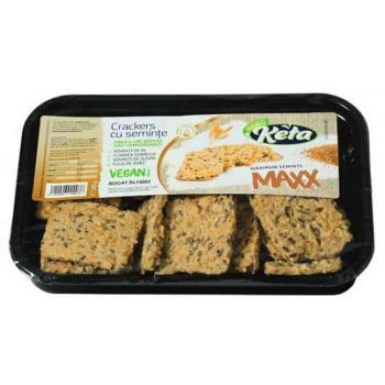 Crackers cu seminte maxx 200 gr KETA