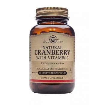 Cranberry extract cu vitamina c 60 cps SOLGAR