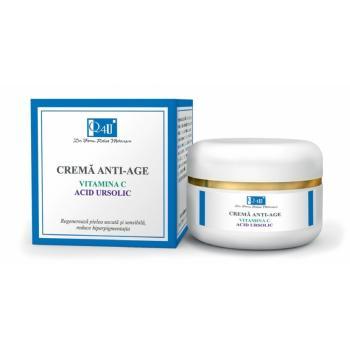 Crema anti-age cu vitamina c si acid ursolic 50 ml TIS