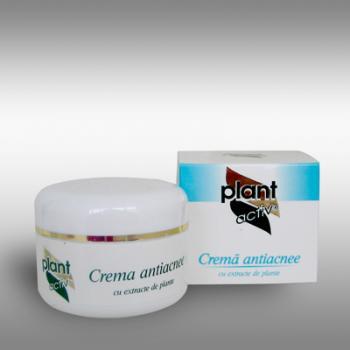 Crema antiacnee cu extracte de plante 50 ml PLANT ACTIV