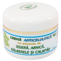 Crema anticelulitica cu extracte de iedera, arnica, galbenele si calapar