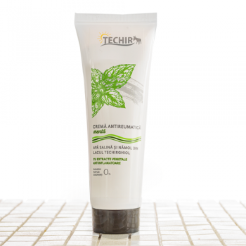 Crema antireumatica masaj menta 125 ml TECHIR