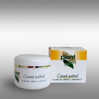 Crema antirid cu ulei de catina si vitamina c 30 ml PLANT ACTIV