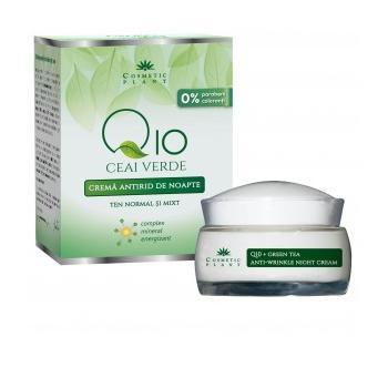 Crema antirid de noapte q10+ceai verde si complex mineral energizant 50 ml COSMETIC PLANT
