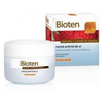 Crema antirid de zi pentru ten uscat si sensibil 50 ml BIOTEN