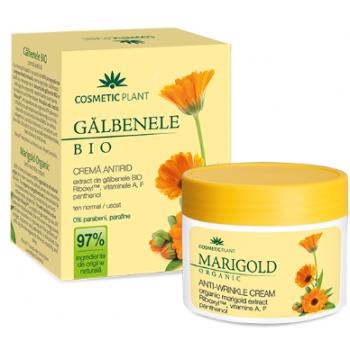 Crema antirid galbenele (bio)  50 ml COSMETIC PLANT