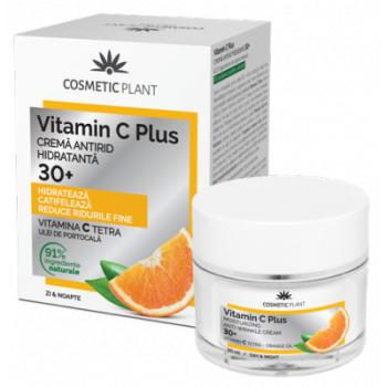 Crema antirid hidratanta 30 + vit c 50 ml VITAMIN C PLUS