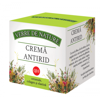 Crema antirid 50 ml VERRE DE NATURE