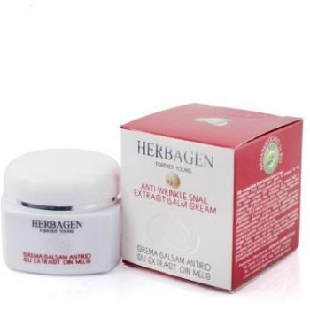 Crema balsam antirid cu extract din melc 50 ml HERBAGEN