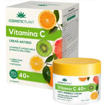 Crema citrice antirid-zi si noapte 40+  50 ml COSMETIC PLANT