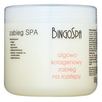 Crema contra vergeturilor cu extract de alge si colagen  500 ml BINGOSPA