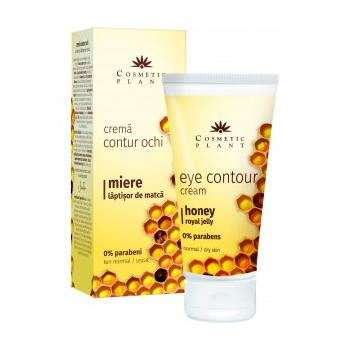 Crema contur ochi cu miere si laptisor de matca 30 ml COSMETIC PLANT