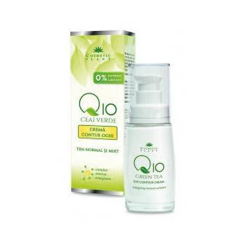 Crema contur ochi q10+ceai verde si complex mineral energizant 30 ml COSMETIC PLANT