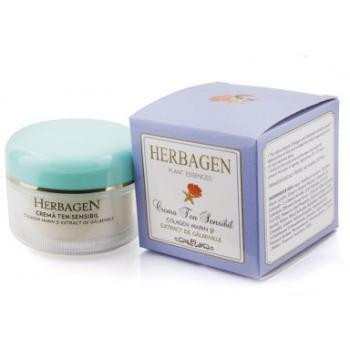 Crema cu colagen marin si extract de galbenele 100 ml HERBAGEN