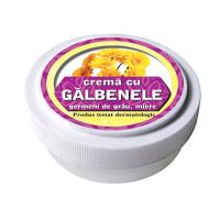 Crema cu extract de galbenele, ulei din germeni de grau si miere de albine