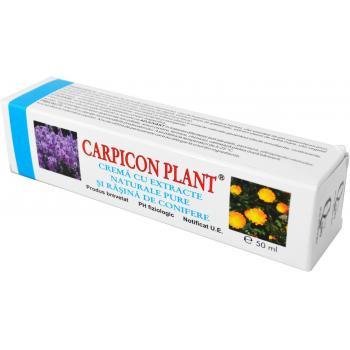 Crema cu extracte vegetale si rasina de conifere 50 ml CARPICON PLANT