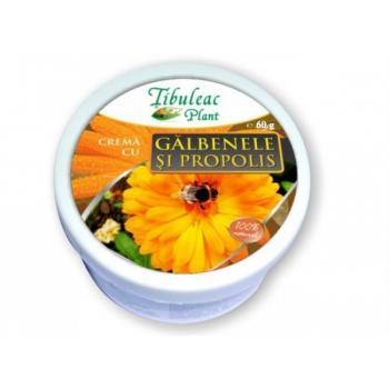 Crema cu galbenele si propolis 60 ml TIBULEAC PLANT