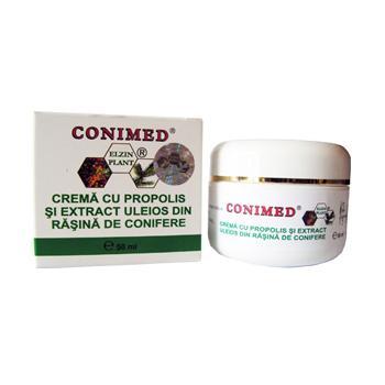Crema cu propolis si rasina de conifere 50 ml CONIMED