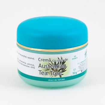 Crema cu ulei de australian tea tree 50 ml PRO NATURA