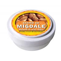 Crema cu ulei de migdale, ulei din germeni de grau si miere de albine