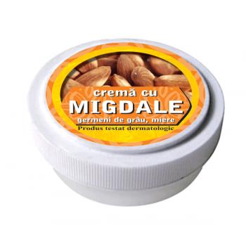 Crema cu ulei de migdale, ulei din germeni de grau si miere de albine 15 ml MANICOS
