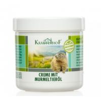 Crema cu ulei din grasime de marmota