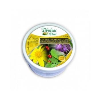 Crema cu untul pamantului, tataneasa si arnica  60 ml TIBULEAC PLANT
