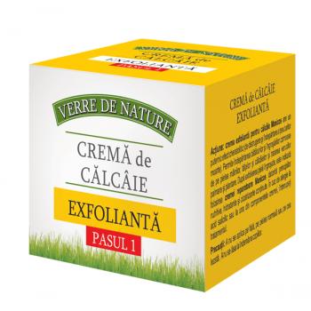 Crema de calcaie exfolianta 100 ml VERRE DE NATURE
