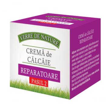 Crema de calcaie reparatoare 100 ml VERRE DE NATURE