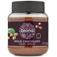 Crema de ciocolata cu lapte si alune de padure