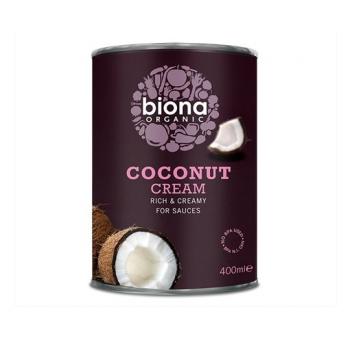 Crema de cocos la cutie bio 400 gr BIONA ORGANIC