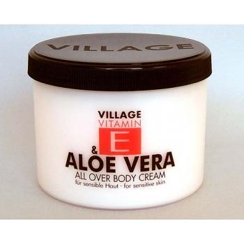 Crema de corp cu aloe vera si vitamina e 500 ml VILLAGE COSMETICS