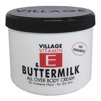 Crema de corp cu vitamina e buttermilk special 500 ml VILLAGE COSMETICS