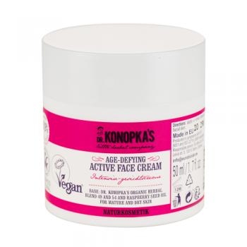 Crema de fata activa anti-rid unisex  50 ml DR. KONOPKA  S LITTLE HERBAL COMPANY