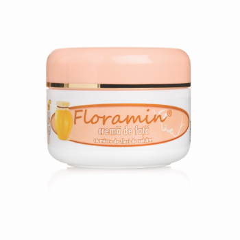 Crema de fata cu miere de flori de salcam 50 ml FLORAMIN