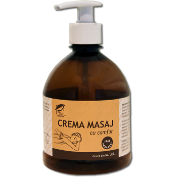 Crema de masaj cu camfor 500 ml PRO NATURA