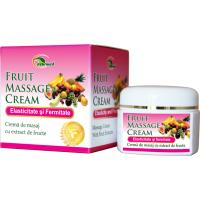 Crema de masaj cu extract de fructe