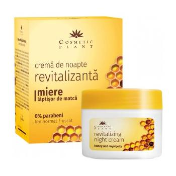 Crema de noapte revitalizanta cu miere si laptisor de matca 50 ml COSMETIC PLANT