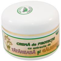 Crema de protectie cu extracte de tataneasa si galbenele