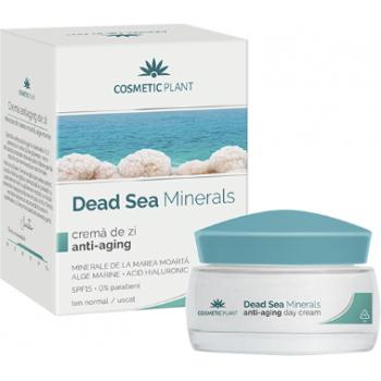 Crema de zi anti-aging dead sea minerals 50 ml COSMETIC PLANT