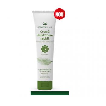 Crema depilatoare rapida cu aloe vera  150 ml COSMETIC PLANT
