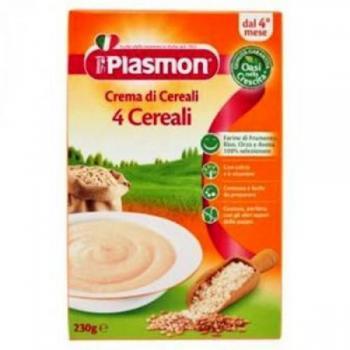 Crema din 4 cereale 4+  230 ml PLASMON