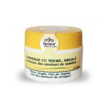 Crema gommage miere si argila  50 ml SUCRERIES DE FRANCE