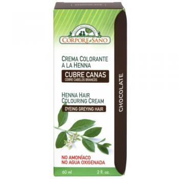 Crema henna ciocolatiu  60 gr CORPORE SANO