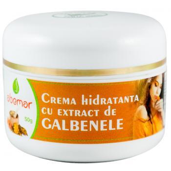 Crema hidratanta cu extract de galbenele 50 ml ABEMAR