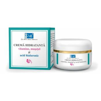 Crema hidratanta cu vitamine, musetel si acid hialuronic 50 ml TIS