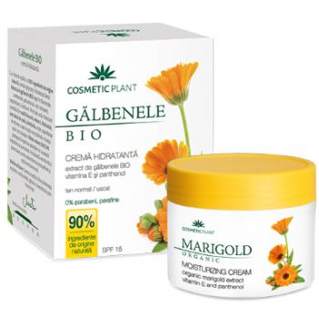 Crema hidratanta galbenele (bio)  50 ml COSMETIC PLANT