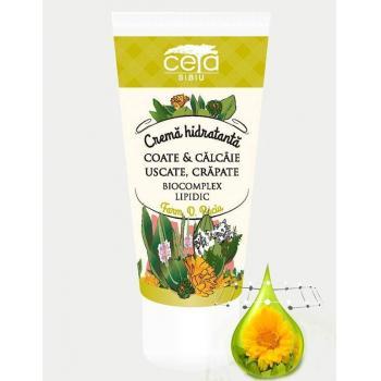 Crema hidratanta pentru coate si calcaie uscate, crapate 50 ml CETA